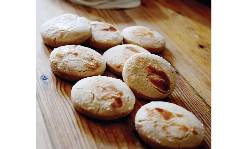 Freshly baked Nankhatai has been a staple in many households who have them at breakfast and teatime. — Dawn