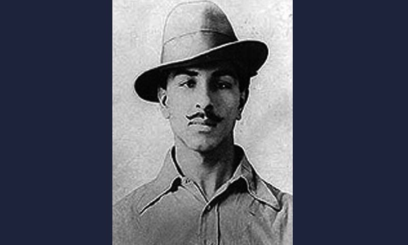 Bhagat Singh .  — Courtesy Wikimedia Commons Bhagat Singh . — Courtesy Wikimedia Commons