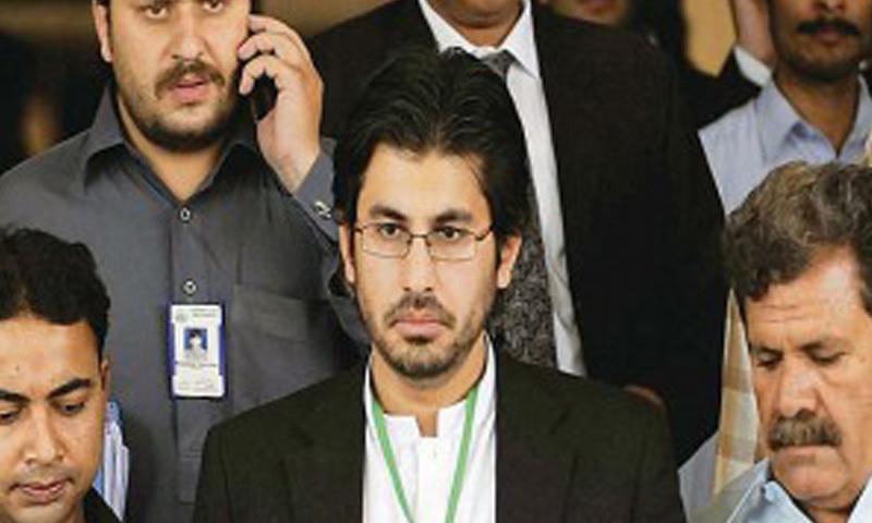 The son of former chief justice Iftikhar Muhammad Chaudhary, Arsalan Iftikhar