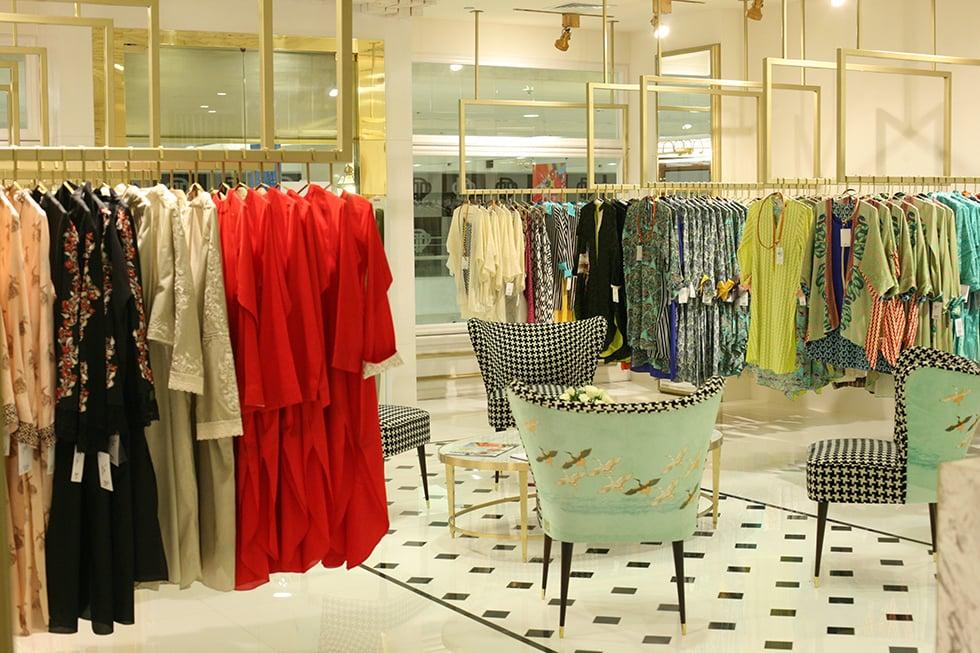 Sania Masktiya's flagship store in Karachi. -Photo courtesy: Siddy Says