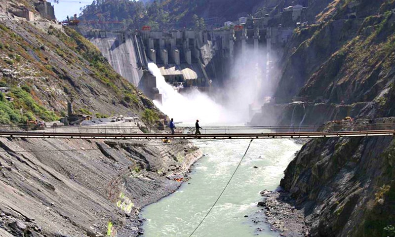 Pakistan currently uses only 5 per cent of its total hydropower potential. —Reuters/File