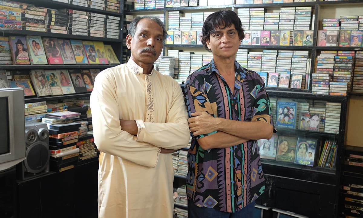Guddu and Liaquat - Fellow cinema enthusiasts