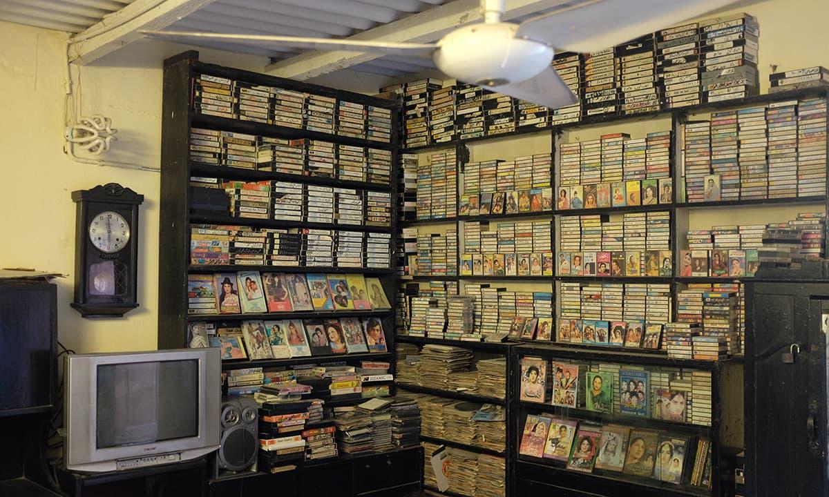 Guddu's collection - A treasure trove for Pakistani Cinema enthusiast