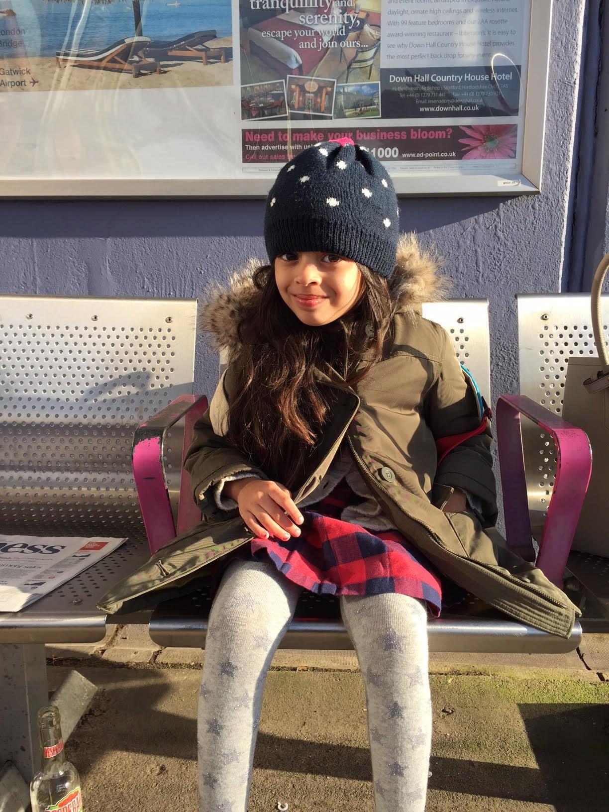 Laila in London.