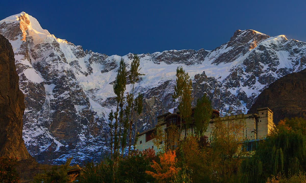 Baltit fort.