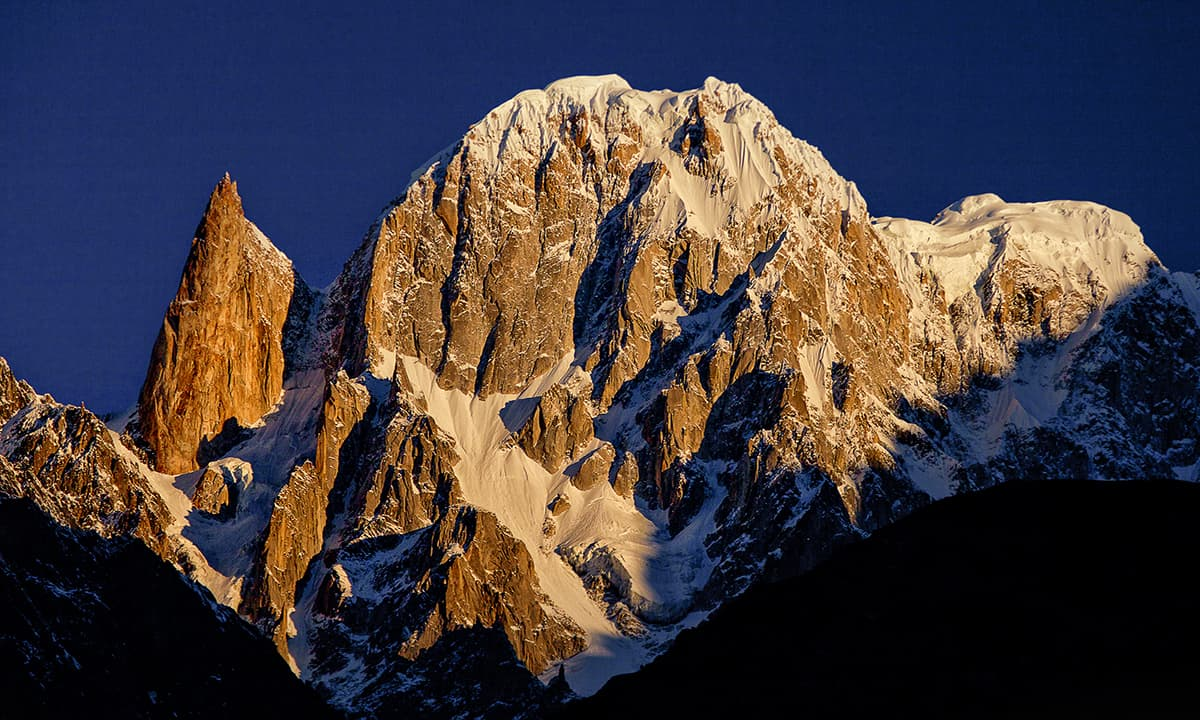 Hunza peak and Lady Finger