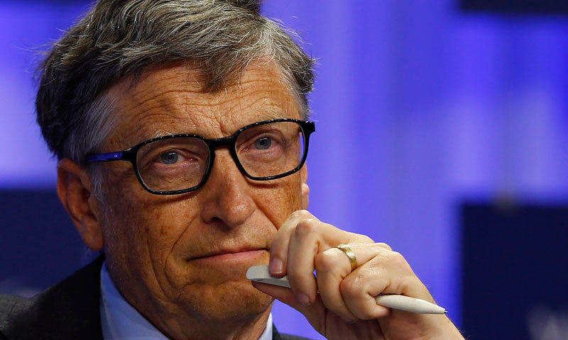 Former CEO of Microsoft and famous philanthropist, Bill Gates. — Reuters/File