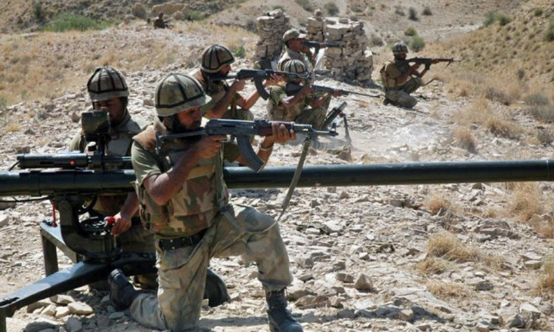 Army claims to push back militants within the Tirah Valley, which is considered as the last stronghold of TTP.—AFP/File