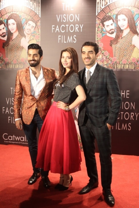 The stars look incredibly dapper on the red carpet.— Photo by Zoya Anwer