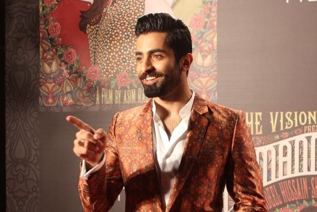 Shehryar Munnawar strikes a pose.
