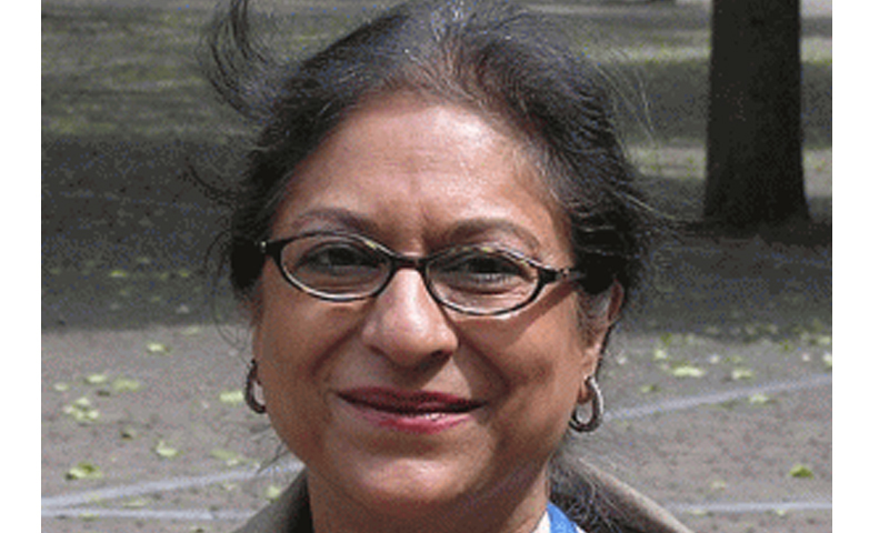 Live discussion with Asma Jahangir