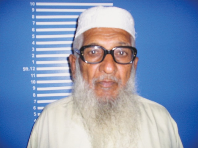Baba Mithal Abro, 80, spent 40 years stealing motorcycles.