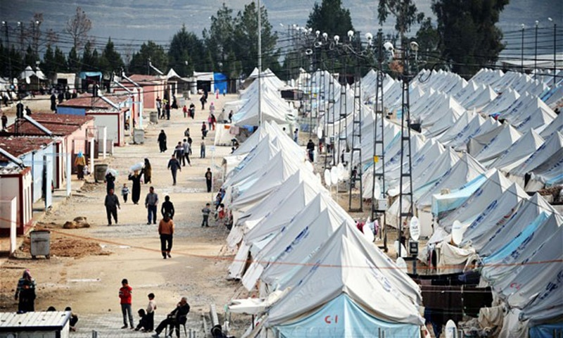 The number of people applying for refugee status in industrialised countries is just one element in the global picture of forced displacement from conflict and persecution. — AFP/file