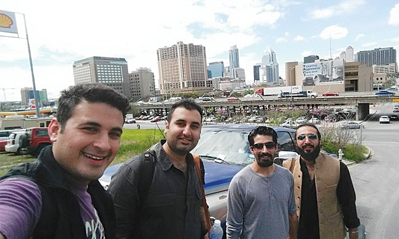 Khumariyaan band members in Austin