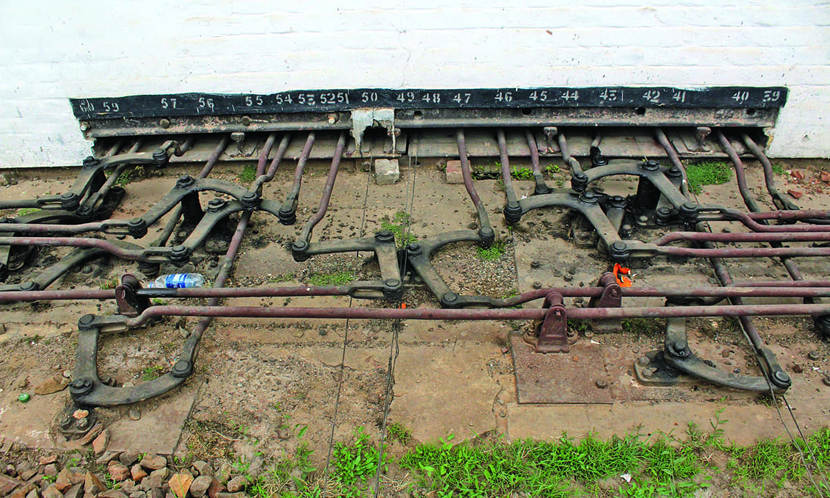Lever Train Track : The journeymen that keep trains chugging pakistan dawn