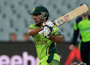 Sarfraz Ahmed will be the vice-captain of the T20 and ODI sides. — AP