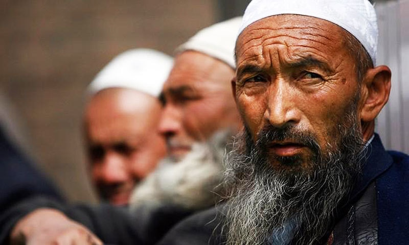 For more than a year the authorities in Xinjiang have been campaigning against men growing beards. —Reuters
