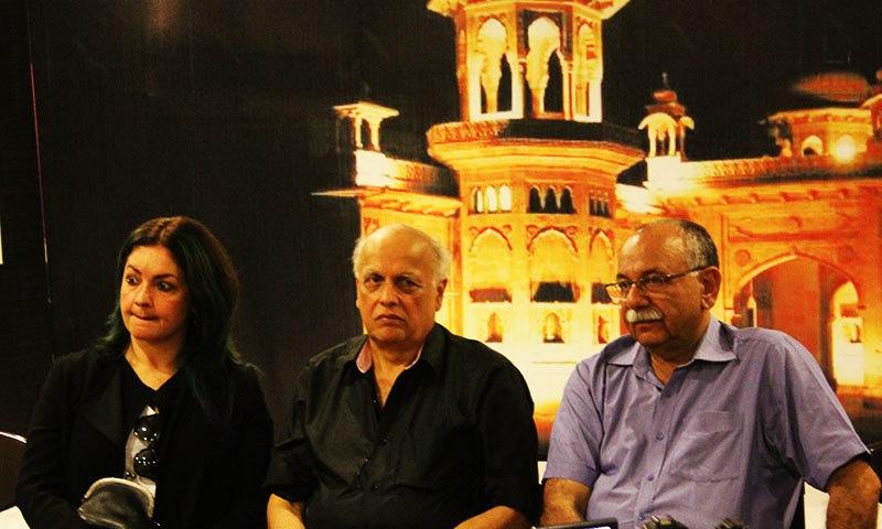 Mahesh Bhatt would like to make films in Pakistan.— Photo by Zoya Anwer