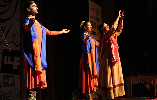 Kathak performance by Nahid Siddiqui – Asif Umar