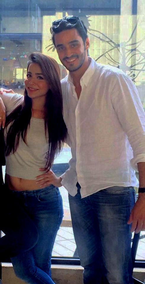 Humaima Malick and Sikander Rizvi.— Photo courtesy: Twitter