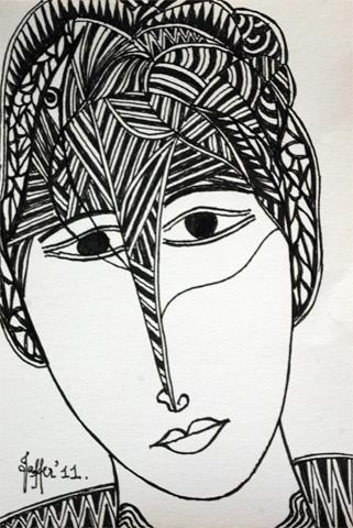 Black ink drawing (2)
