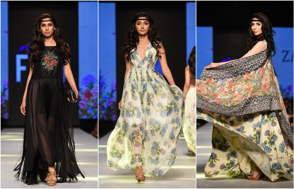 Shahjahan's collection was breezy with an edge