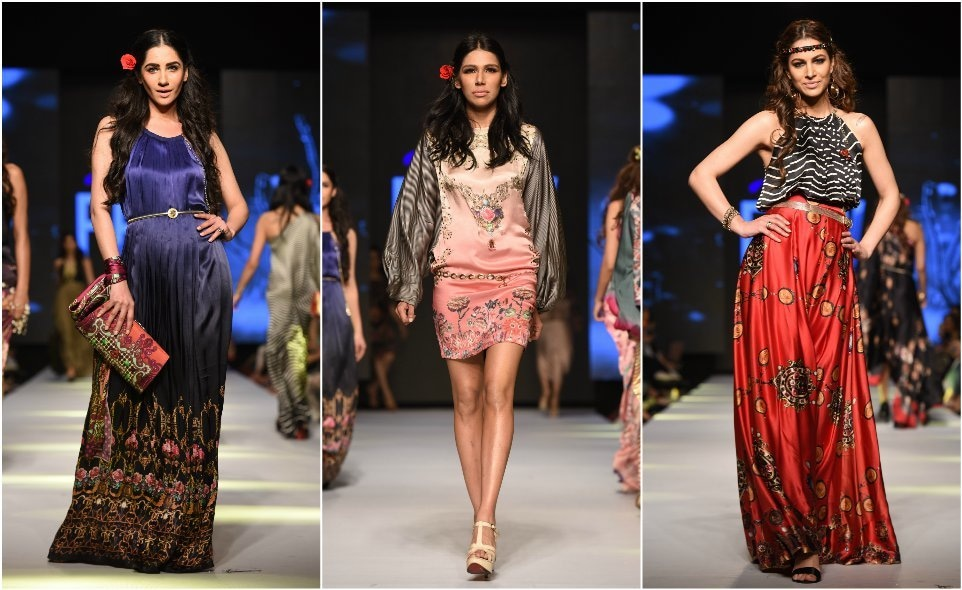 Perwani's line showed a regal, flirty collection
