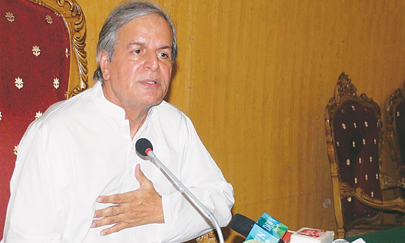 Dharna was Gen Shuja Pasha's brainchild, alleges Javed Hashmi