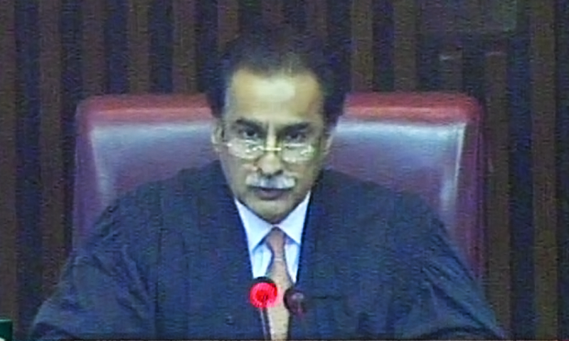 Sardar Ayaz Sadiq appeals for calm