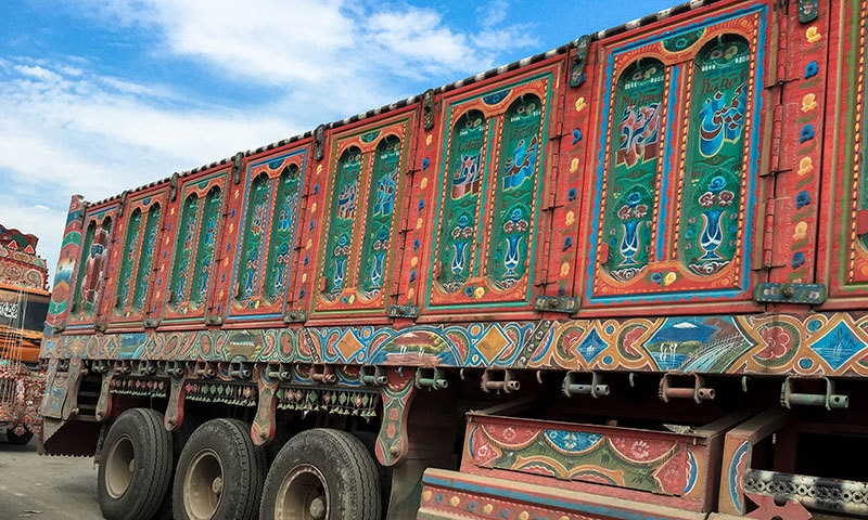 The brilliantly colourful Pakistani trucks, despite being a cliché, grab my attention every time I see them.— Photo courtesy: Nandita Das