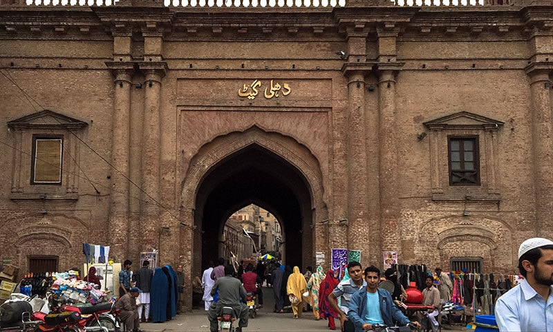 But there are many uncanny similarities too. Just as Delhi has Lahori Gate, Lahore has Dilli Gate.— Photo courtesy: Nandita Das