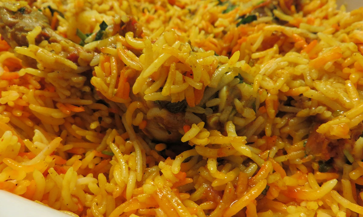 Telefood's Sindhi Biryani.— Photo by author