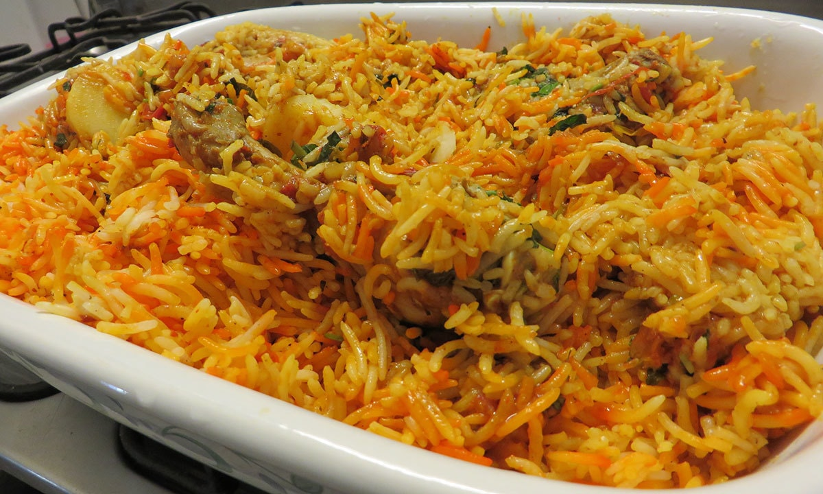 Tele  Foods' Sindhi Biryani. — Photo by author