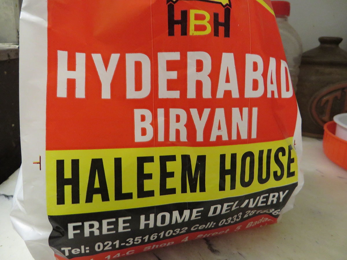 It carries the fiery taste of Hyderabad.— Photo by author