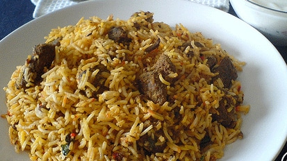 Biryani from Biryani Centre.— Photo courtesy: Biryani Centre's website