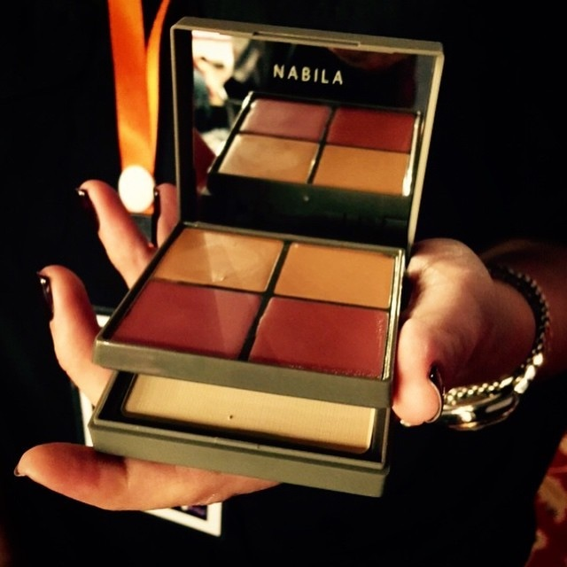 The box contains a base, concealer, blender, lip colour and a blush. — Photo courtesy: Tapu Javeri's Instagram