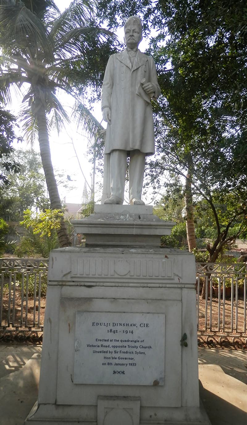 ایڈلجی ڈنشا کا مجسمہ