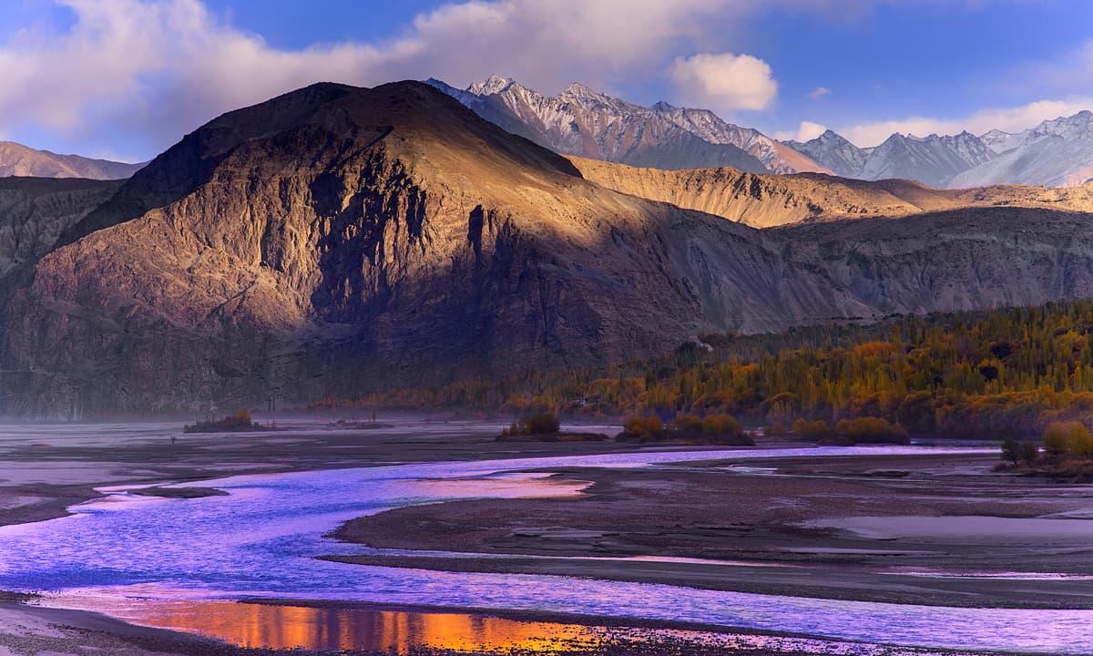 Braldu river. — S.M.Bukhari