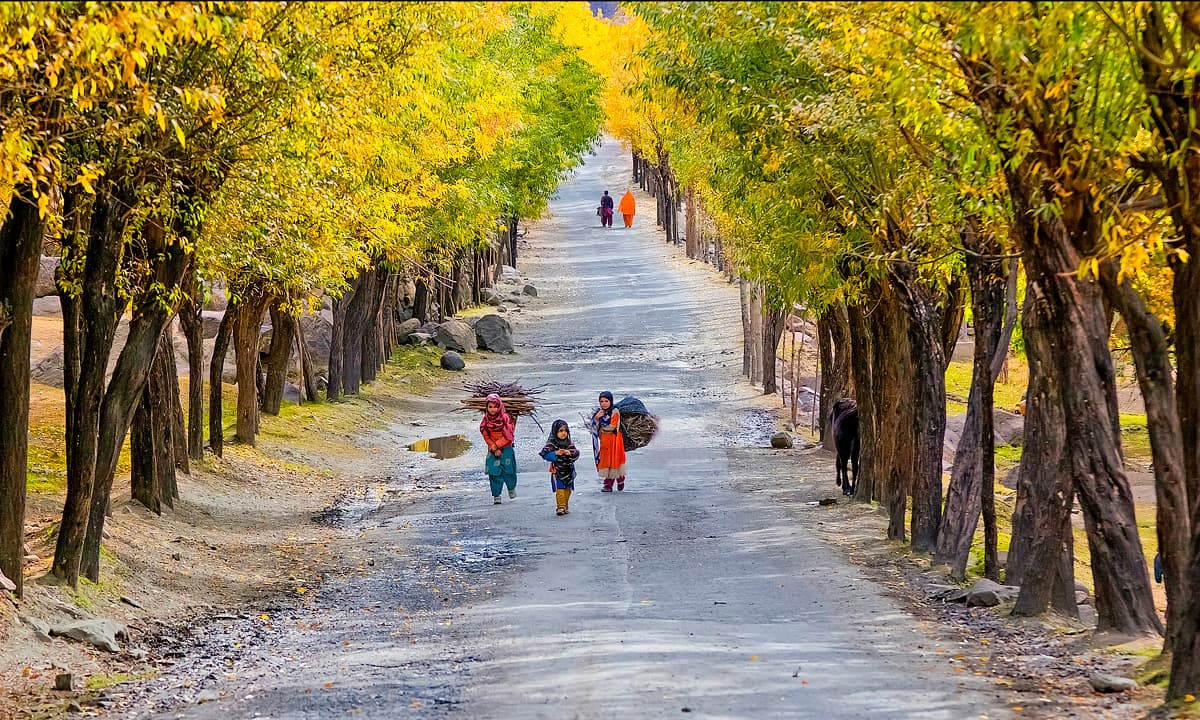 Road to Skardu. — S.M.Bukhari