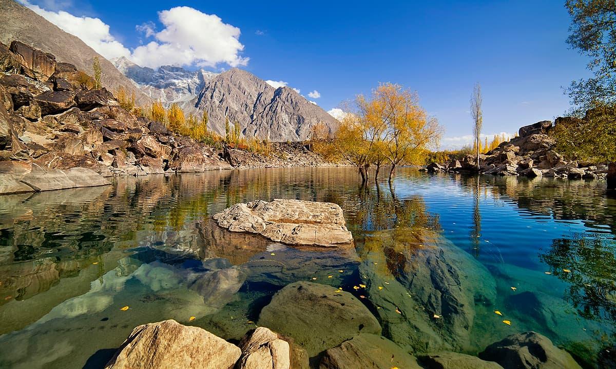 Upper Kachura lake.— S.M.Bukhari