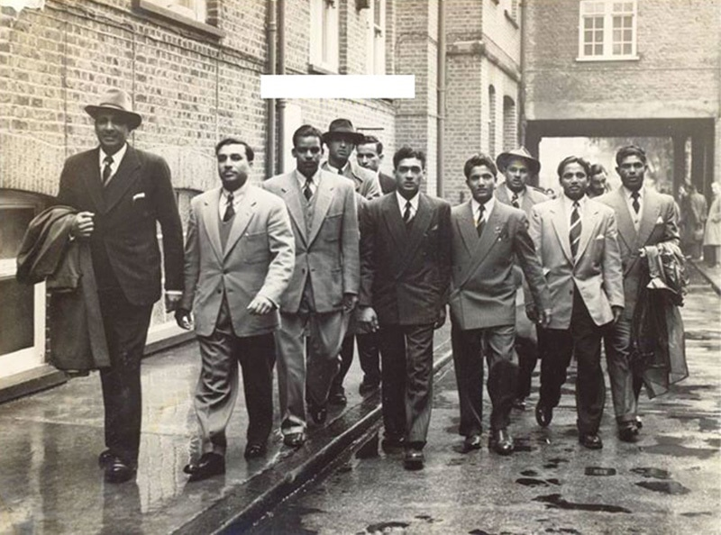On the prowl: The Pakistan cricket team in England (1954).