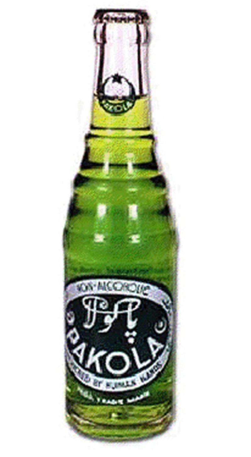 That little green drink: The first bottle of Pakistan's 'national soft drink,' Pakola. The drink was launched by Mehran Bottlers on Pakistan's third anniversary on August 14, 1950. Shape of the bottle has gone through many changes, but the colour and taste of the drink remains the same: Foggy green and bitter-sweet.