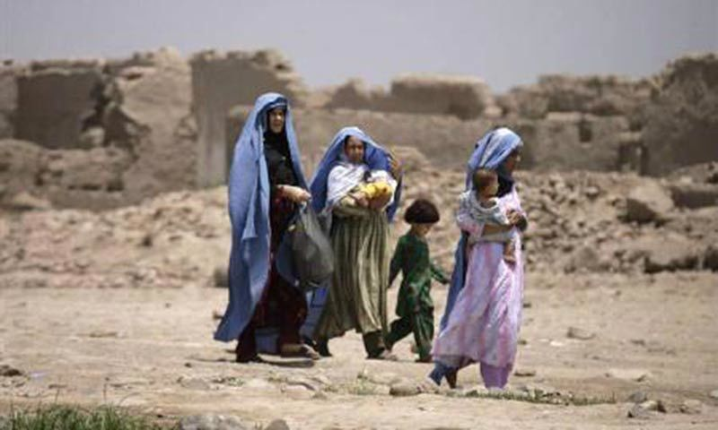 KP Governor Sardar Mehtab said all resources will be utilised to facilitate the return of IDPs. ─ Reuters/File