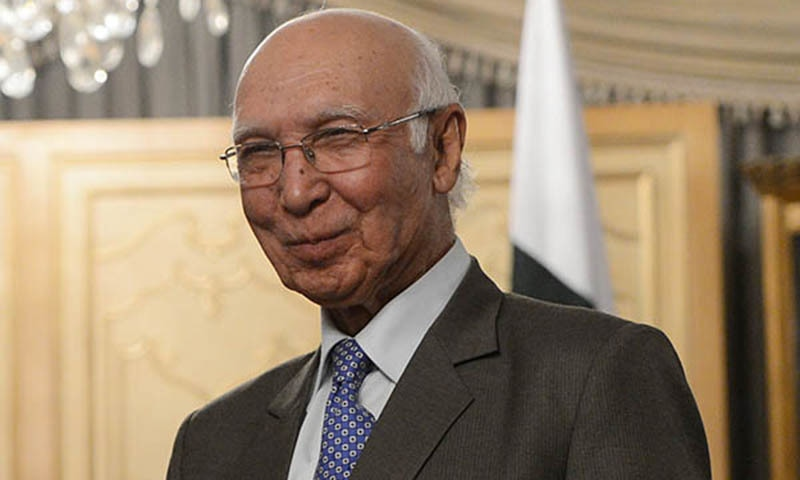 There is a broad consensus in parliament that Pakistan's involvement in the civil war in Yemen is not advisable, says Aziz.AFP/File