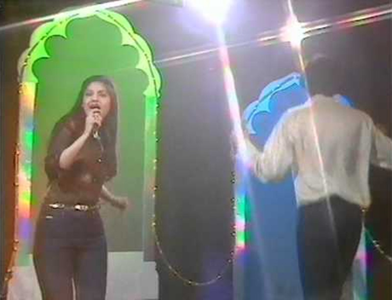 Disco days: Pakistani pop duo, Nazia & Zoheb, performing their first major hit, Disco Deewane on TV in 1980. They were banned in 1981 by the Zia regime but the ban was soon lifted.