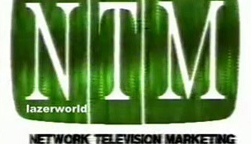 Logo of the first private TV channel in Pakistan, STN/NTM. It was launched in 1990.
