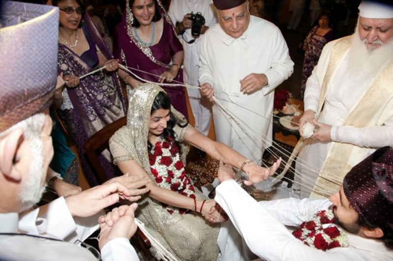 A Zoroastrian wedding in Karachi.