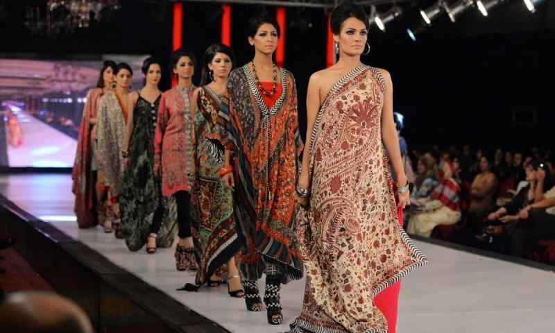 A fashion show in Karachi.