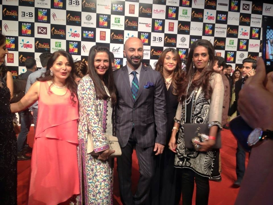 HSY was a hit with the Dubai's Pakistani audience. — Photo courtesy: Hamna Zubair