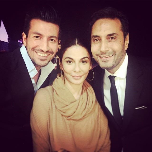 Nabila smiles for the camera alongside Adnan Siddiqui and Wiqar Ali Khan. — Photo courtesy: Instagram